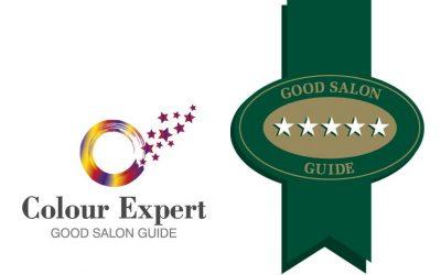 GOOD SALON GUIDE AWARD FOR VITAL HAIR SALON